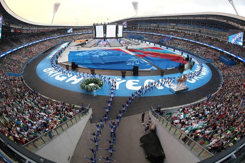迪玛希在第二届欧洲运动会开幕式演唱意大利语新歌