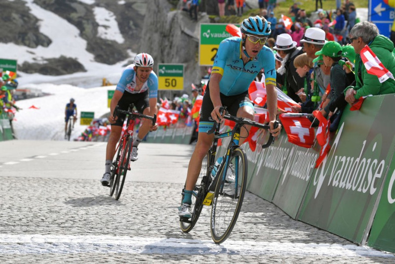 Astana's Jan Hirt 5th in Tour de Suisse stage 7