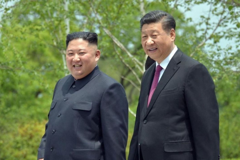 Kim, Xi reach consensus on 'important issues' through series of summits: KCNA