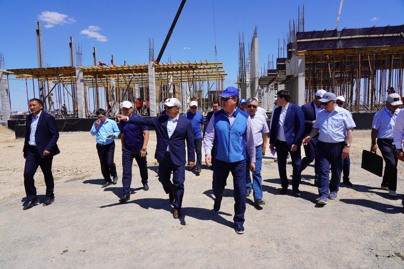 Kazakh PM pays working visit to Turkestan region, Shymkent