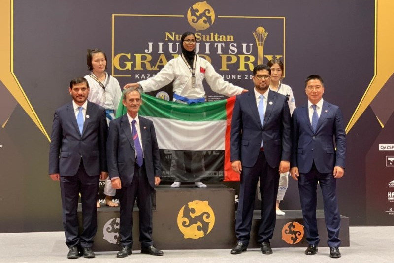 UAE bags 8 medals on Day 1 of Kazakhstan Jiu-Jitsu Grand Prix