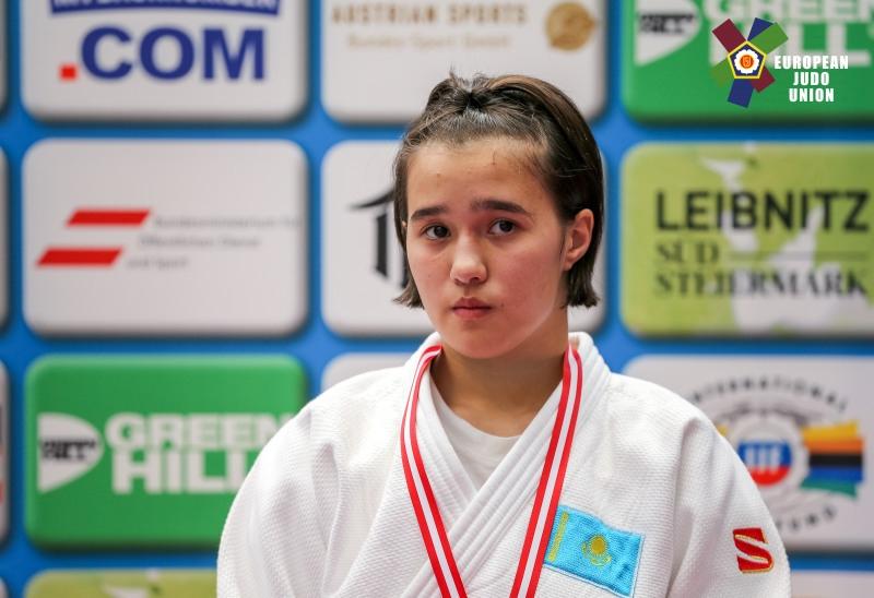 Kazakh judoka wins top honors at Paks Junior European Cup 2019