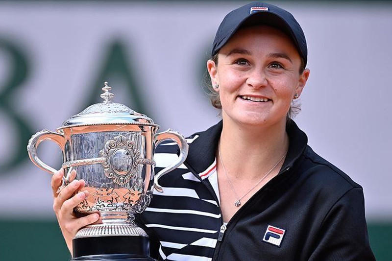 Barty becomes new No.1 in women's tennis
