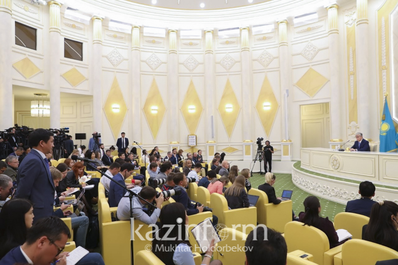 Kazakh President charged to establish Journalist's Day