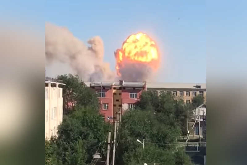 Kazakh President orders to take immediate actions to eliminate explosion effects