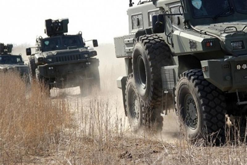Бронированную технику привлекут на тушение пожара в Арыси - МВД РК