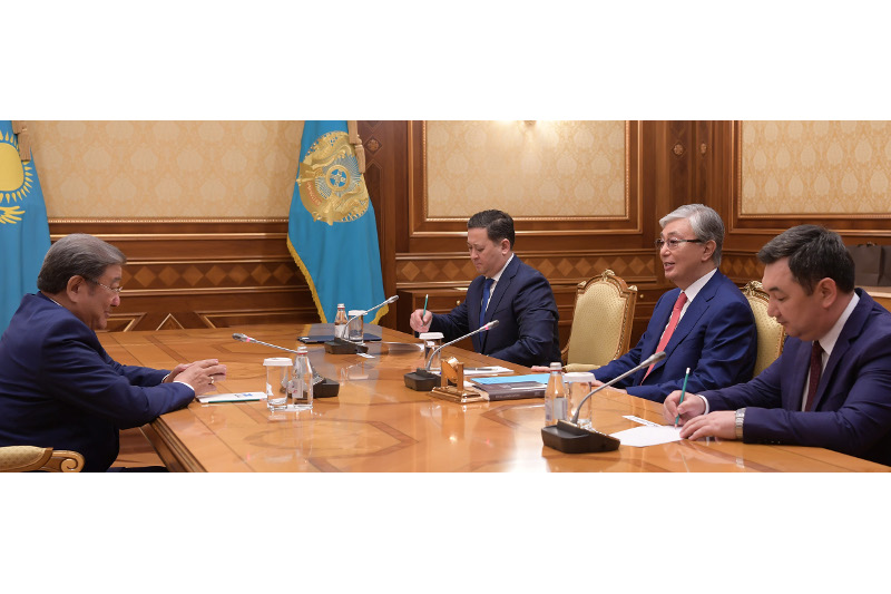 President Tokayev meets with First President of Mongolia