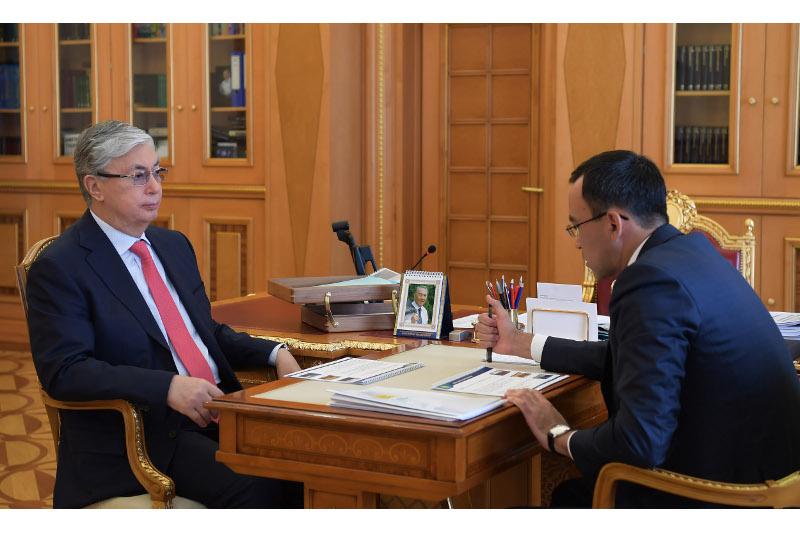 Маулен Ашимбаев доложил Президенту о реализации предвыборной программы