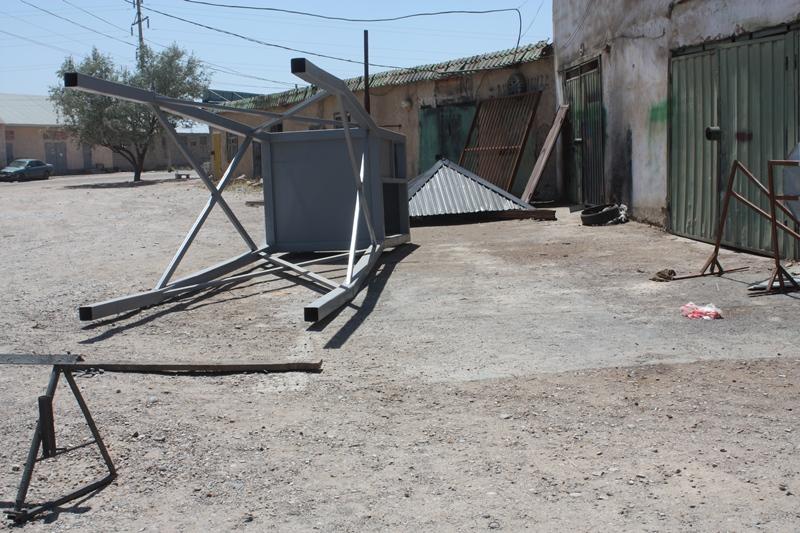 Тоғыз жолдың торабындағы Арыс қаңырап бос қалған (фоторепортаж)