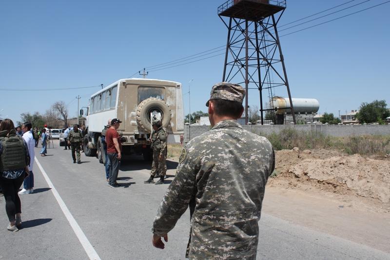U.S. Embassy in Kazakhstan, U.S. Central Command express sympathies over Arys tragedy