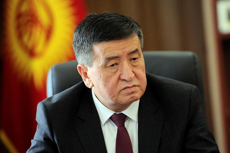 Қырғызстан Президенті Арыстағы жарылыстардан қаза болғандардың отбасыларына көңіл айтты