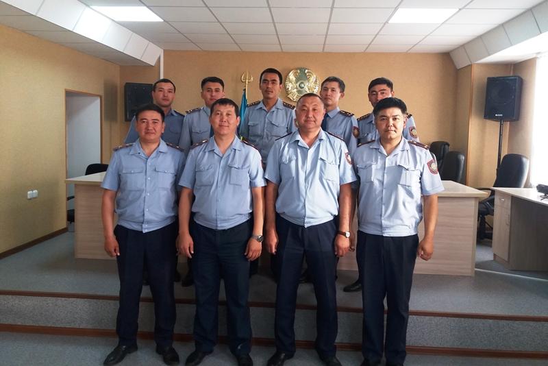 Лучшего участкового инспектора выбрали в Карагандинской области