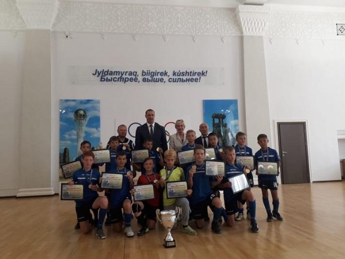 Юные карагандинские футболисты стали чемпионами Казахстана