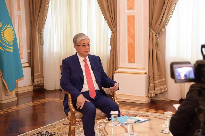 Глава государства дал интервью агентству «Bloomberg»