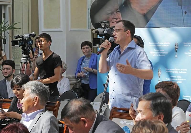 Ерлан Қошанов: Журналист мамандығы бойынша түскен ауыл түлектеріне грант бөлінеді