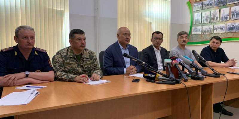 Арыс қаласында өрт толық сөндірілді - ҚР Қорғаныс министрінің орынбасары