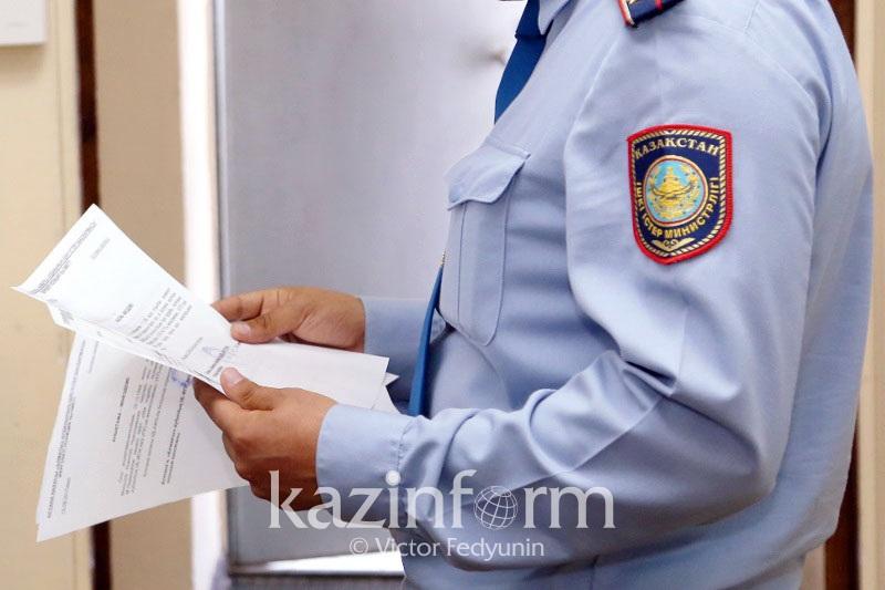 В Шымкенте полиция расследует факт распространения слухов о взрыве бомбы