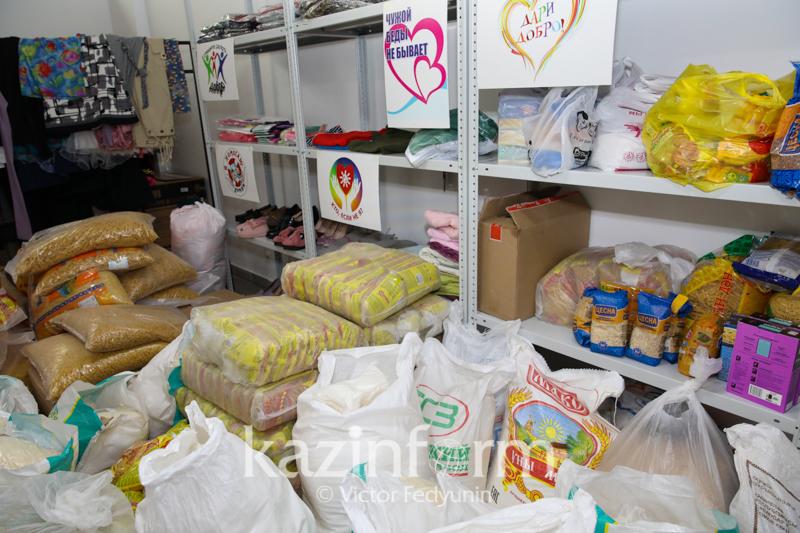 Только за два дня АНК оказала помощь на 51 млн тенге пострадавшим в Арыси