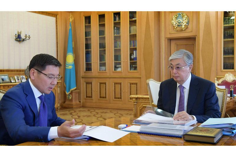 总统接见数字发展、创新和航空航天工业部部长