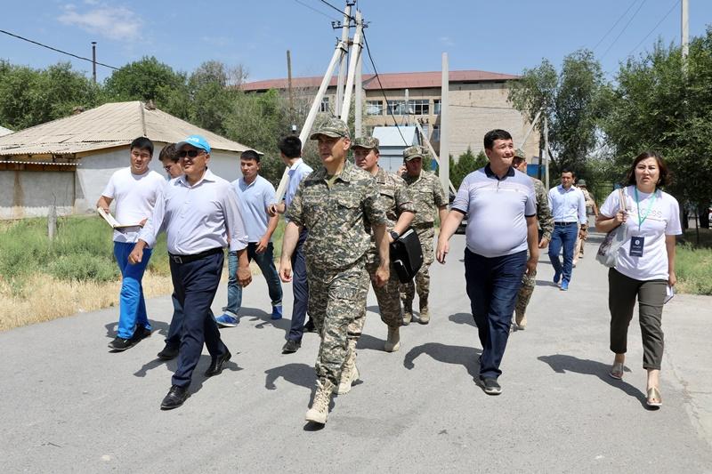 Минобороны РК: Очистка города Арыси завершена