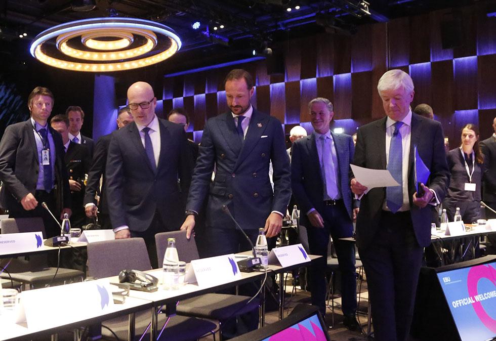 哈萨克斯坦代表团出席欧洲广播联盟会议