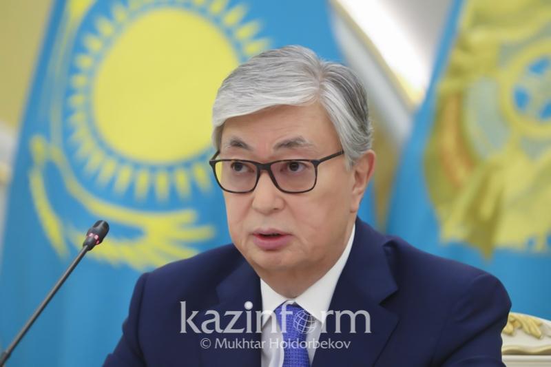 Qasym-Jomart Toqaev aýǵan halqyna kóńil aıtty