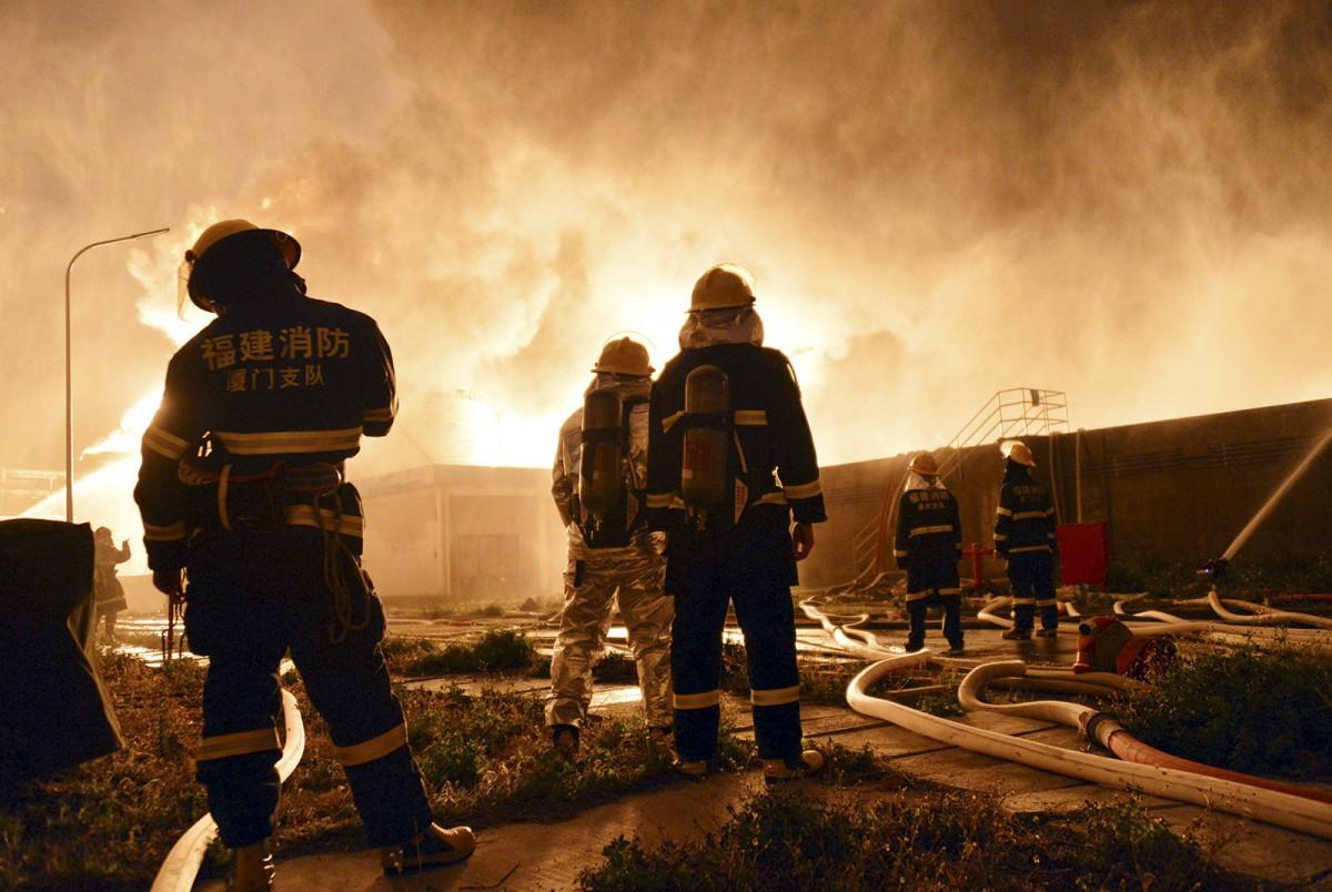 Қытайдағы химия зауытындағы жарылыс: қаза тапқандар бар