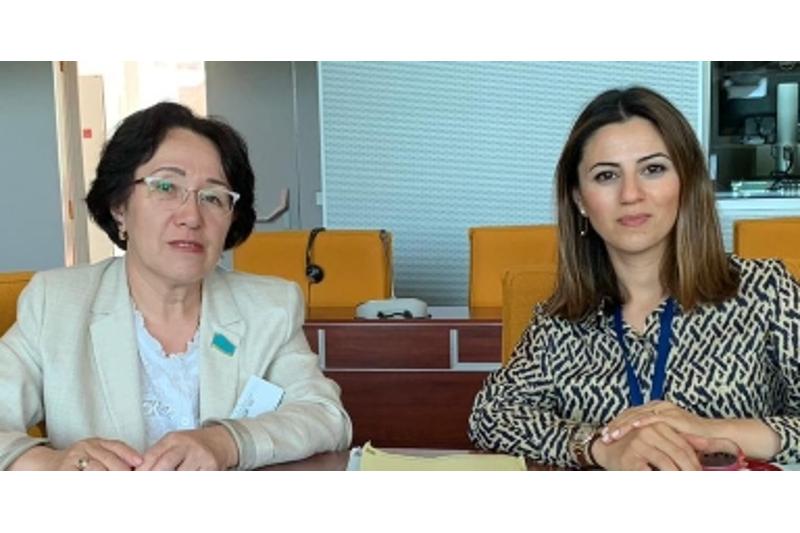 哈萨克斯坦议员出席欧洲理事会议会大会会议