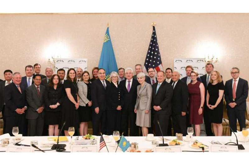 Kazakhstan and the U.S. aim at strengthening economic partnership