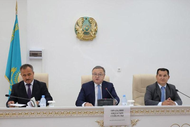 Назначен аким Уилского района Актюбинской области
