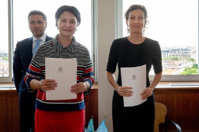 哈萨克斯坦与联合国教科文组织签署协议 在阿拉木图建立二类机构