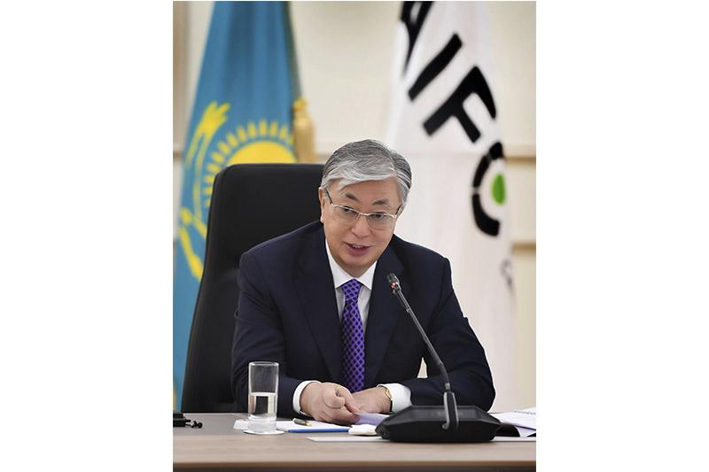 托卡耶夫总统主持召开AIFC管理委员会会议