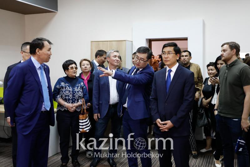 В КазГЮУ открылся проектный офис по противодействию коррупции «Адалдык аланы»