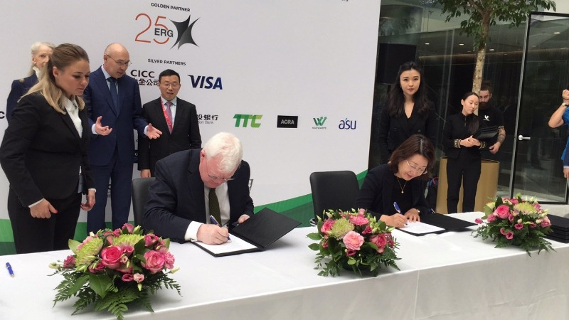 阿斯塔纳国际金融中心证券交易所同多个中国企业签署合作协议