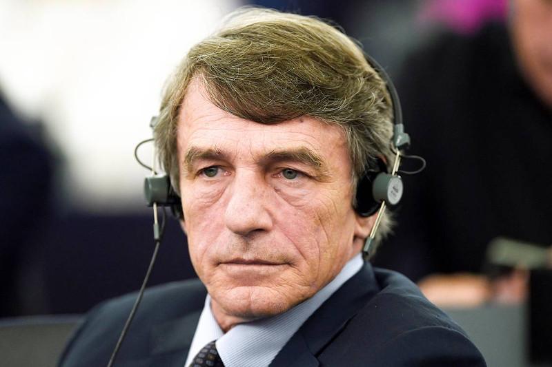 意大利议员大卫•萨索利当选欧洲议会主席