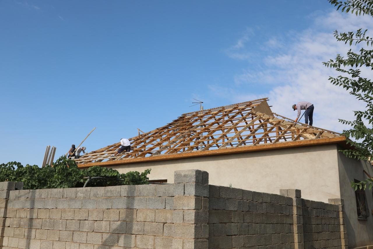 В 748 домах в Арыси идет ремонт