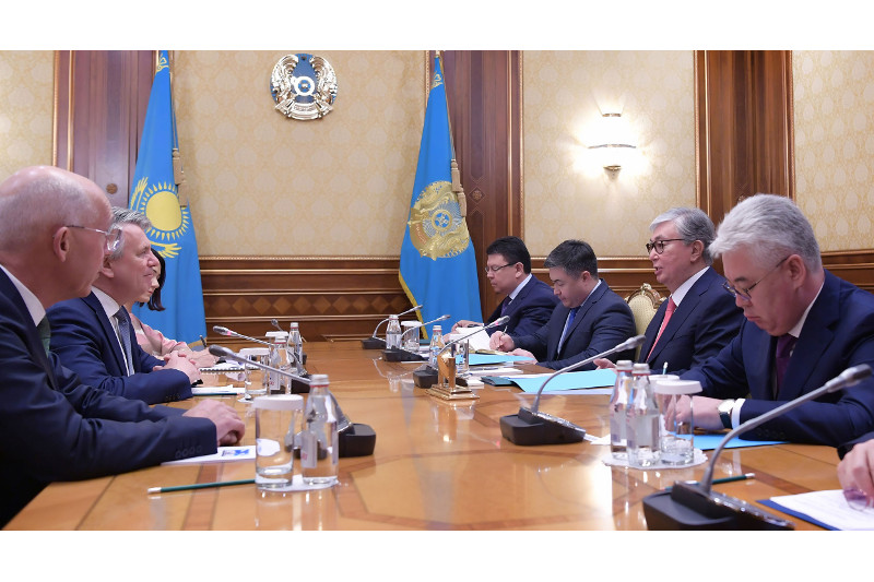 President Tokayev receives Royal Dutch Shell CEO