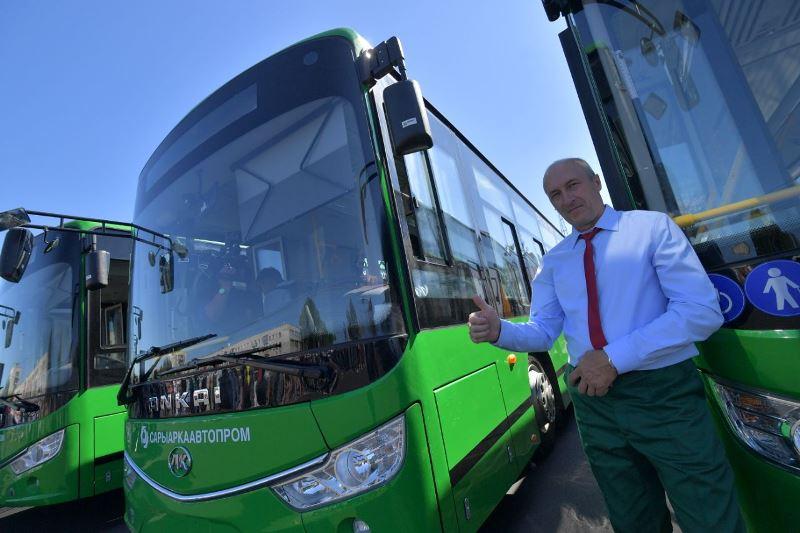 Елорда күні қарсаңында Павлодарда 10 электробус жүре бастады