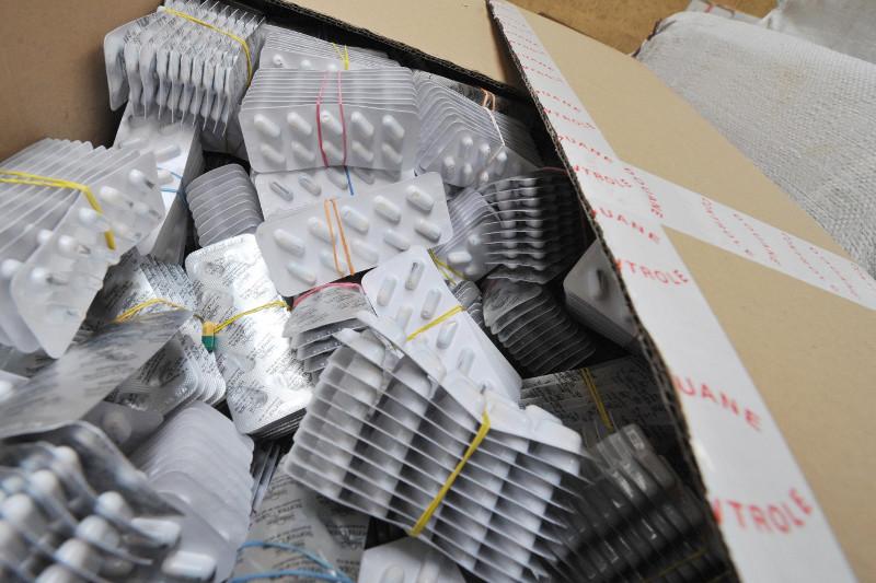 Китайские лекарства пыталась незаконно провезти через границу казахстанка