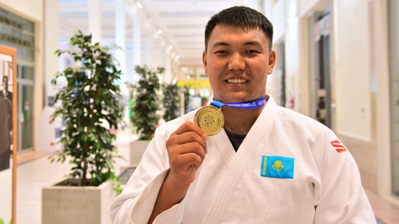 Галымжан Кырыкбай принес Казахстану первое «золото» Универсиады-2019