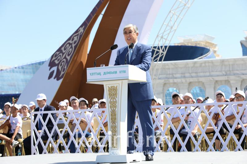 ҚР Президенті: Мектепте домбыра үйрену сабағын енгізу қажет