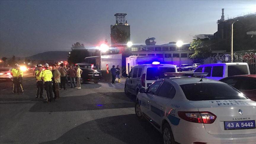 Взрыв на азотном заводе произошел в Турции