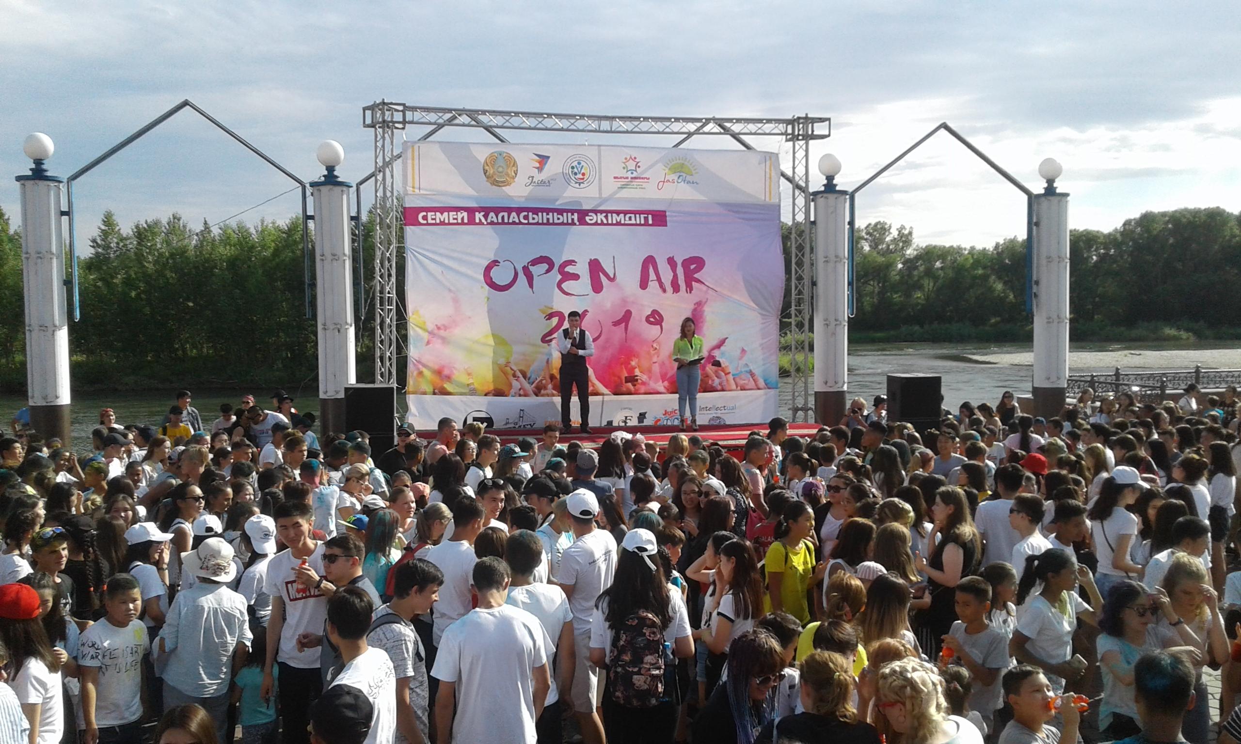 Семейде «OPEN AIR-2019» жастар фестивалі өтті