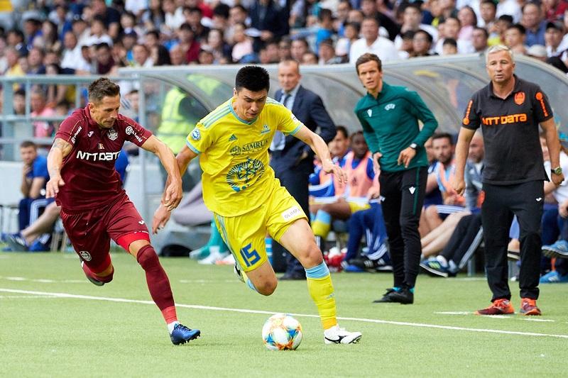 Футболдан Чемпиондар лигасы: «Астана» қарсыласын жеңді