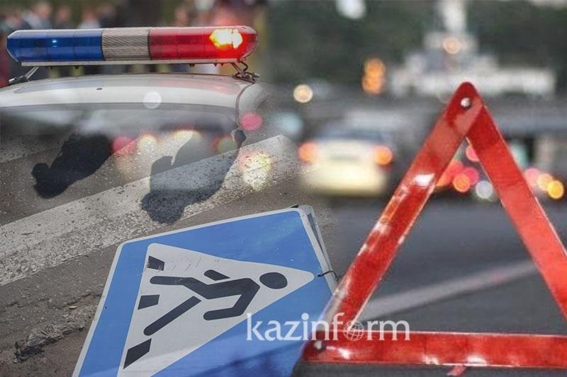 Пьяный водитель сбил женщину на пешеходе в Актобе