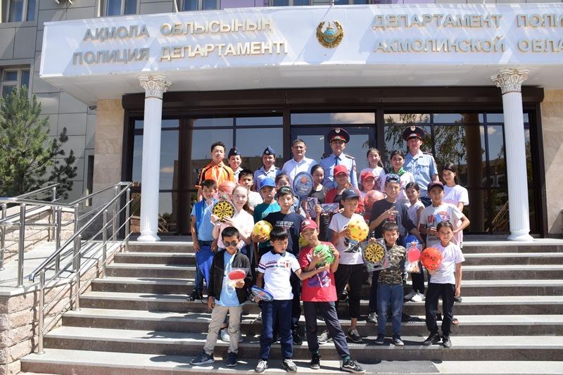 Дети из Арыси побывали на экскурсии в Кокшетау