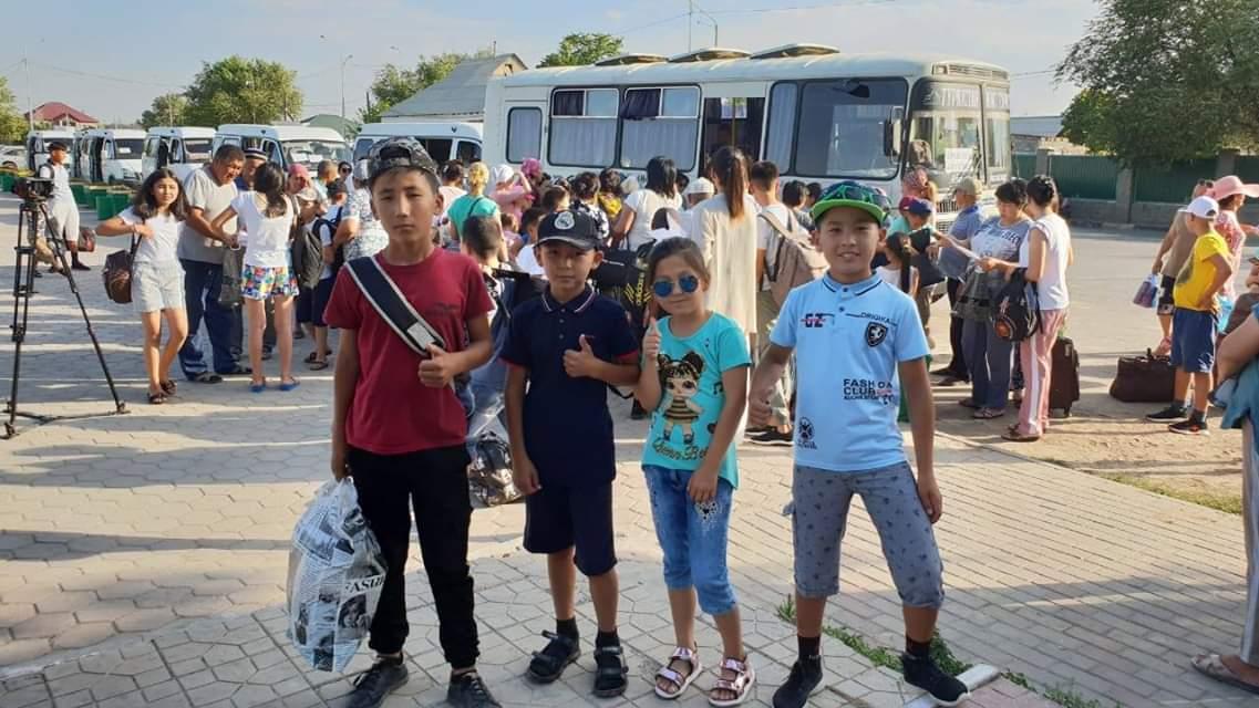 Cвыше 4 тысяч арысских детей все лето будут отдыхать в лагерях