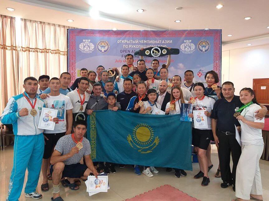 Полицейский из Нур-Султана стал чемпионом Азии по рукопашному бою