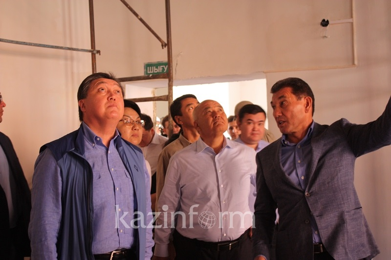 PM Mamin inspects reconstruction progress in Arys