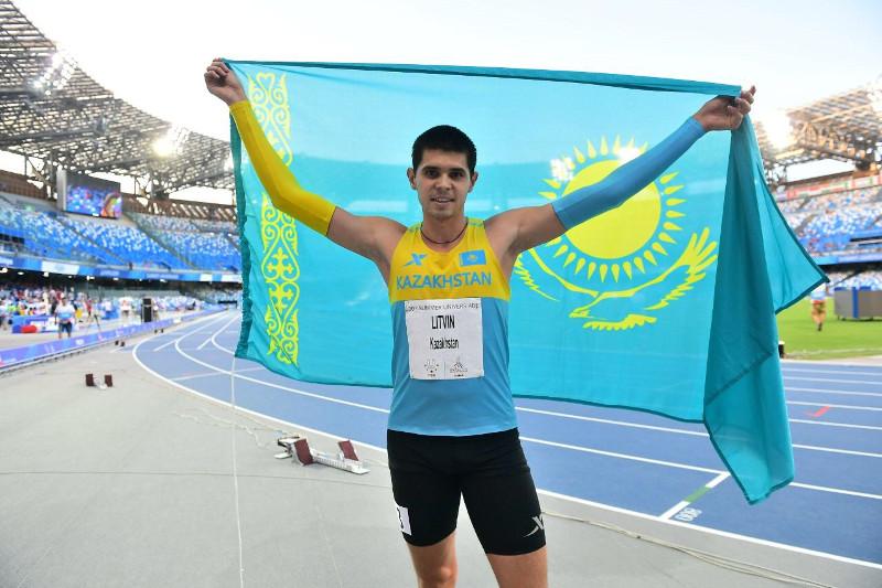 УНИВЕРСИАДА-2019: Михаил Литвин 400 метрге жүгіруден күміс жүлдені жеңіп алды